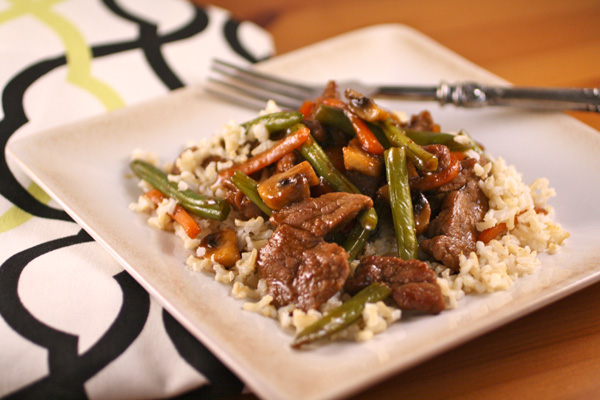 A Ritzier Thai Stir-Fry to choose from!